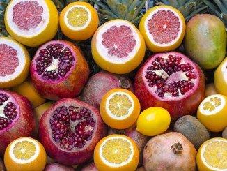 Citrus fruit. High in vitamin c