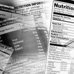 Nutrition facts. Food and Drink