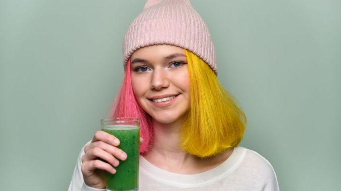 Vegan teenagers