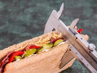 Quick weight loss diet may involve a baguette but not a measuring device like that shown.