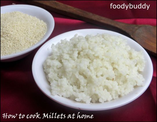 How to cook millets at home