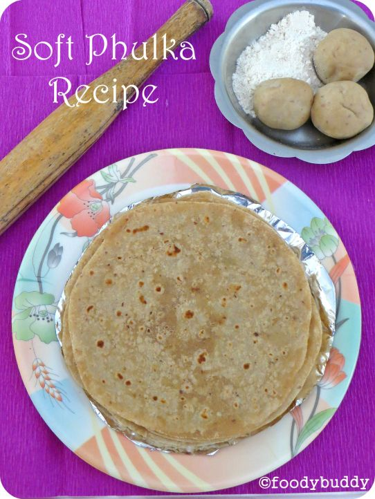 soft phulka recipe
