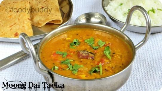 dal tadka recipe with moong dal