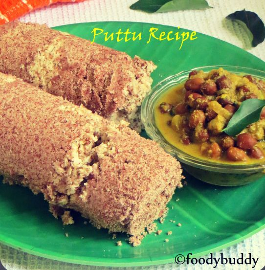 pottu recipe with red rice flour