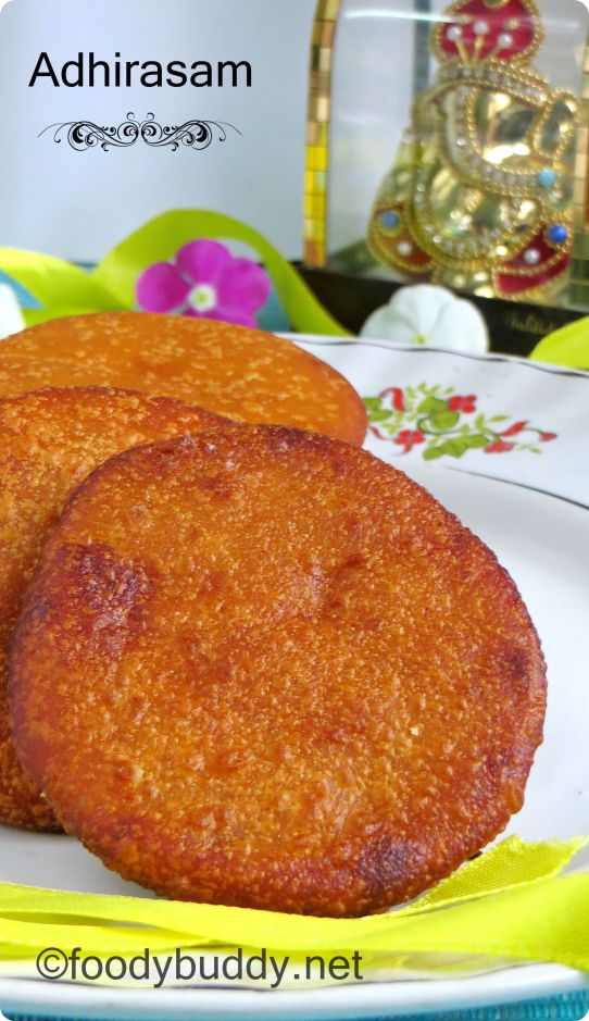 adhirasam recipe using jaggery