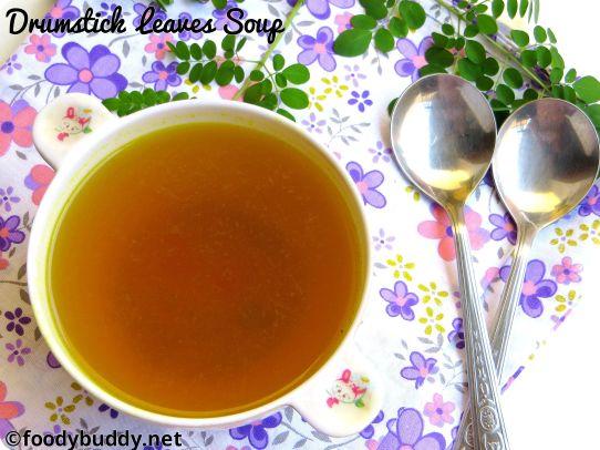 MURUNGAI KEERAI soup recipe