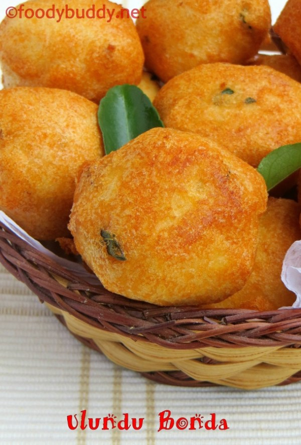 ULUNDU BONDA RECIPE