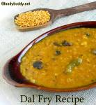 Basic Dal Recipe / Uppu Paruppu Using Toor Dal (South Indian)