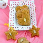 eggless rose cornflakes cookies