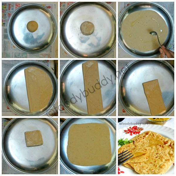 Soft Layered Chapathi Recipe