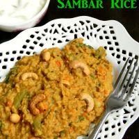 Samai sambar rice / Samai bisibelabath Recipe