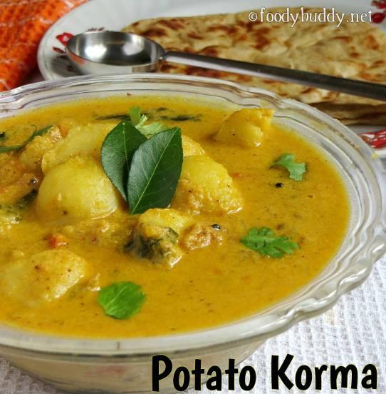 potato kurma recipe for chapathi (restaurant style)