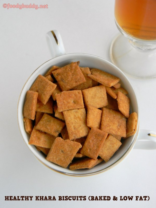 baked wheat biscuits