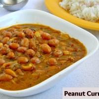 Verkadalai Kuzhambu Recipe / Peanut Curry