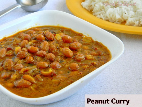 peanut curry recipe