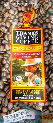 Byron' s Maracaturra nicaragua coffee