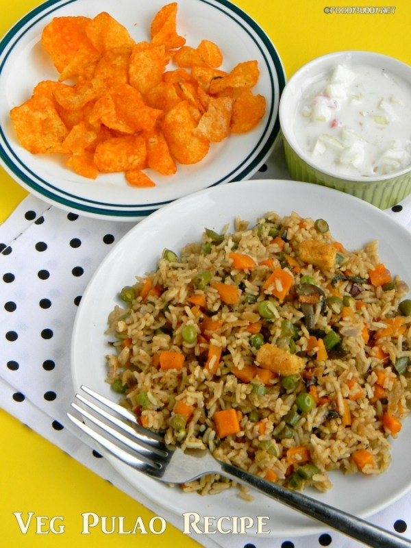 make veg pulao