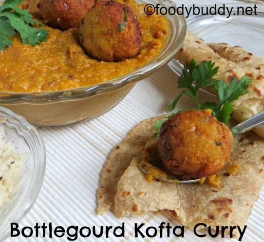 bottlegourd kofta curry