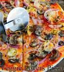 Easy Tortilla Pizza Recipe / Thin Crust Pizza