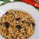 10 Mins Garlic Rice / Garlic Chickpeas Rice / Poondu Sadam