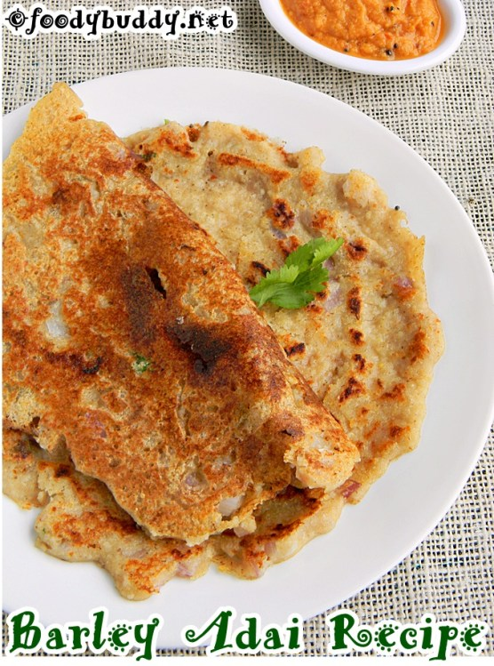 barley adai recipe