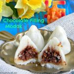 Chocolate Coconut Modak Recipe / How to make Chocolate Filling Modak