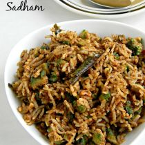 bittergourd masala rice recipe