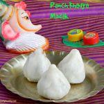 Pancha Khadya Modak Recipe / Khirapat modak
