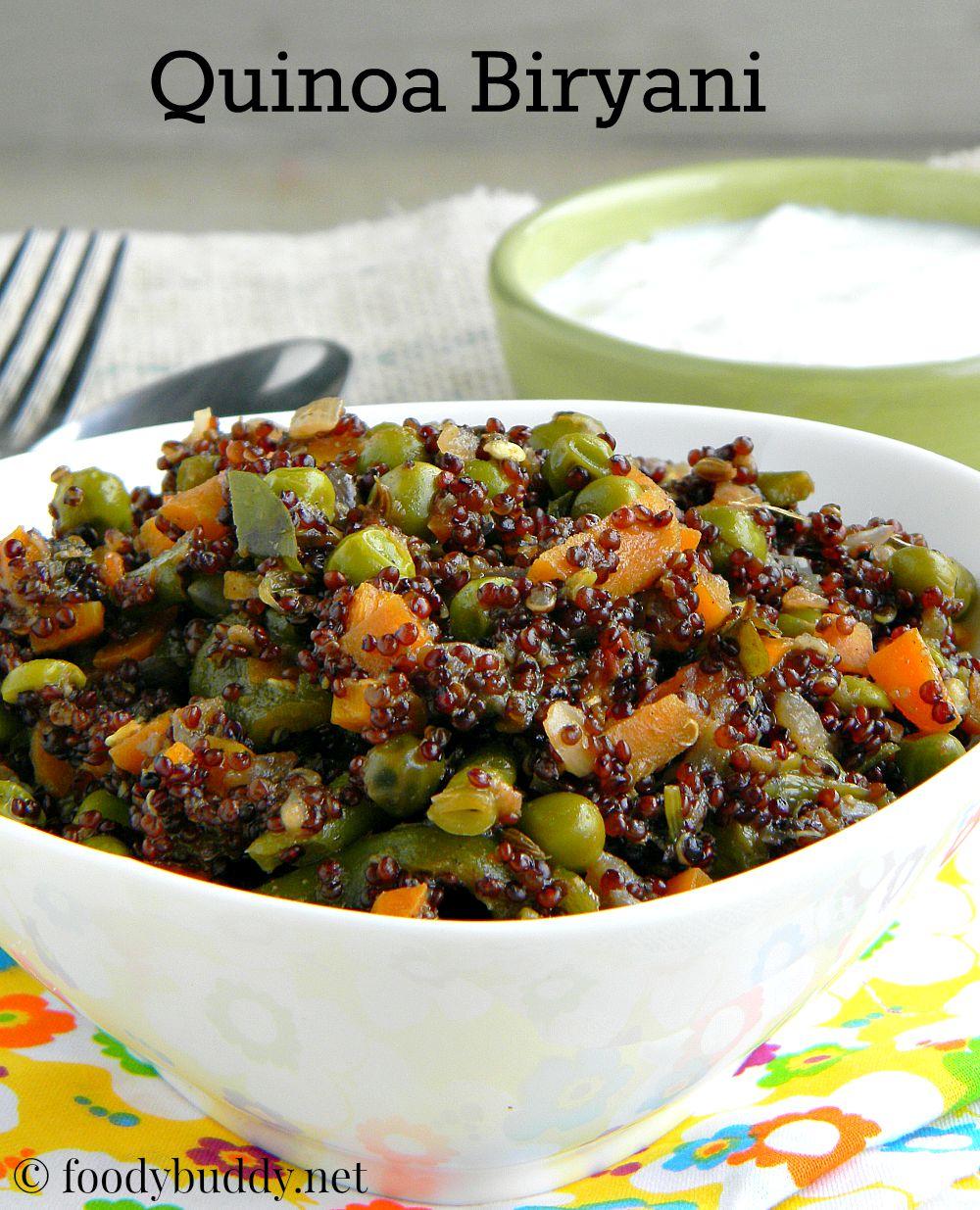 Quinoa vegetable biryani indian quinoa recipes foodybuddy tags quinoa biryani quinoa vegetable biryani quinoa vegetable biryani recipe quinoa indian recipes quinoa recipes quinoa rice how to cook quinoa in forumfinder Gallery