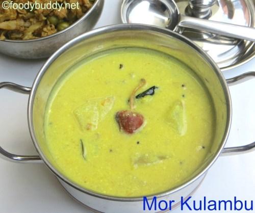 mor kulambu recipe in tamil
