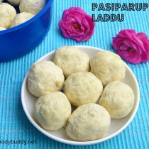 pasiparuppu laddu recipe