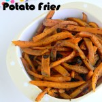 Low Fat Sweet Potato Fries (Indian Style)