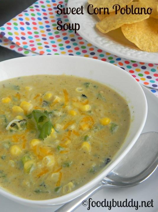 roasted poblano sweet corn chowder recipe