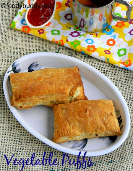 vegetable puffs recipe with frozen puff pastry