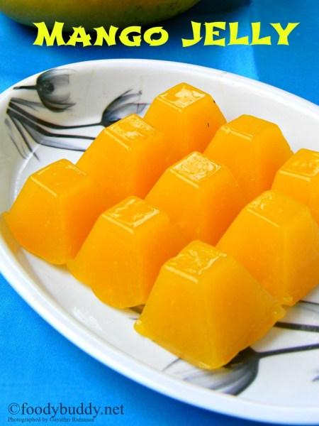 easy mango jelly recipe using agar agar