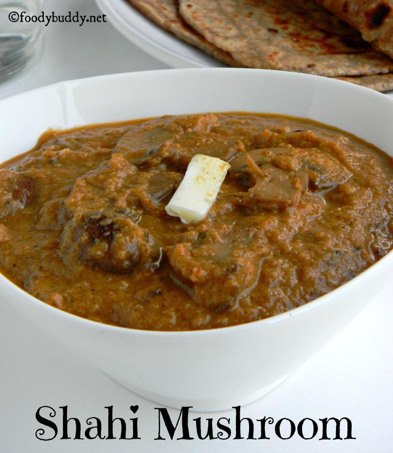 Shahi Mushroom Gravy Recipe (Restaurant Style)