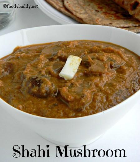 shahi mushroom recipe