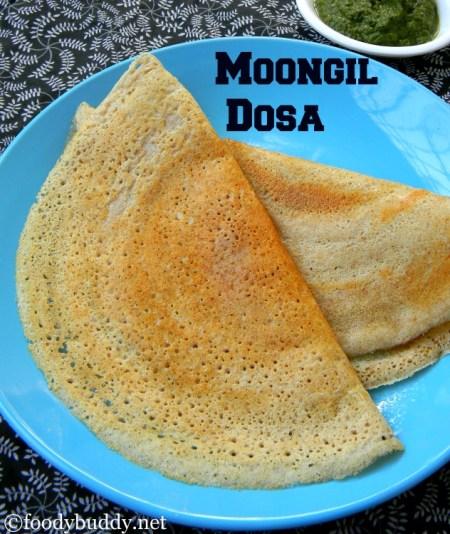 moongil dosa
