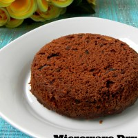 Microwave Dry Fruit Cake Recipe / Eggless Cake Recipe