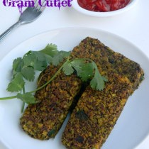 quinoa green moong cutlet recipe