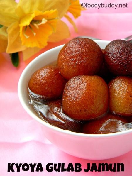 kyoya gulab jamun recipe