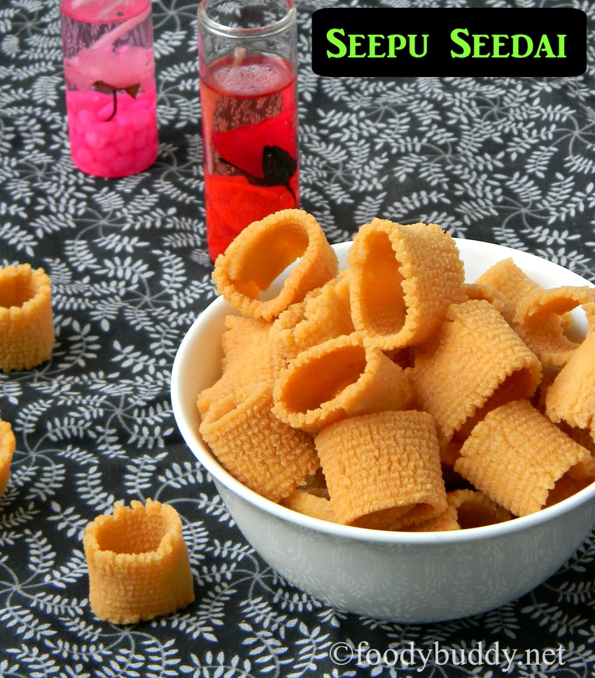 Chettinad Seepu Seedai Recipe / Diwali Snacks