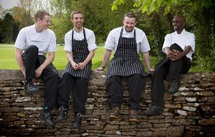 Chefs: Steve Poyner, Jake Merchant, Richard Painter, David Mwiti