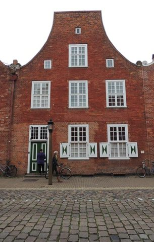 Dutch quarter buildings