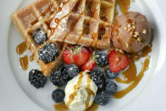 Snowflake Waffle