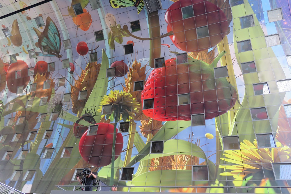 roof of Markthal