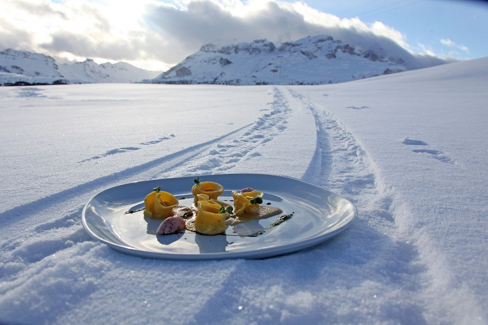A taste for skiing
