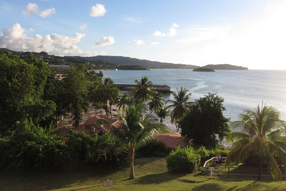 Saint Lucia balcony