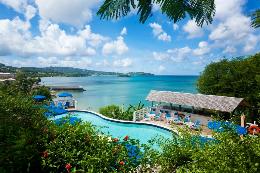 St Lucia Tommys pool