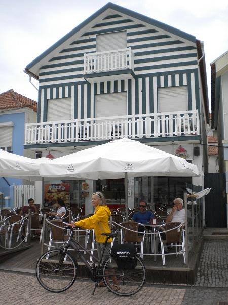 striped houses at costa nova